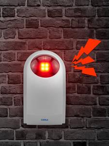 Kerui Siren Alarm-System Outdoor Home-Security Sound-Strobe-Flash J008 Waterproof External