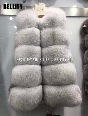 Nejprodávanější luxusní ženy podzimní zima pravá kožešinová vesta přírodní pravá liška kožešina Horiental dámské vesty svrchní oděvy