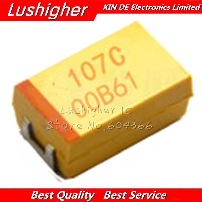 20PCS T491D107K016AS condensateur au tantale 100uf 16 V 10/% d CASE Kemet