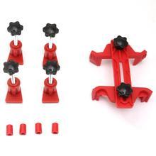 Uniwersalny uchwyt blokady wałka rozrządu samochodu narzędzie do blokowania rozrządu silnika podwójny pojedynczy wałek rozrządu ustalacz paska rozrządu tanie tanio Fanxoo CN (pochodzenie) 15cm Metal + Plastic 286g 10cm