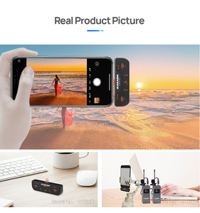 Image 5 - Mailada VLOGGO3L Wireless Microphone with Transmitter Receivers Lavalier Mic for iphone 6 7 8 X XS Xr max iphone 11