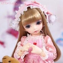 Fairyland Littlefee Luna BJD SD Doll 1/6 Body Model Baby Girls Boys Eyes High Quality Toys Shop Resin Figure Gifts