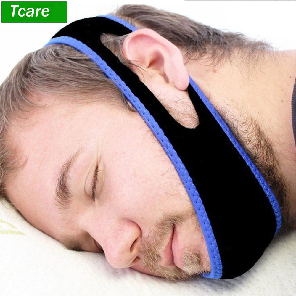 1Pcs Snoring Chin Strap Adjustable Anti Snore Chin Strap Support Stop Snoring- Natural And Instant Snore Relief Jaw Belt