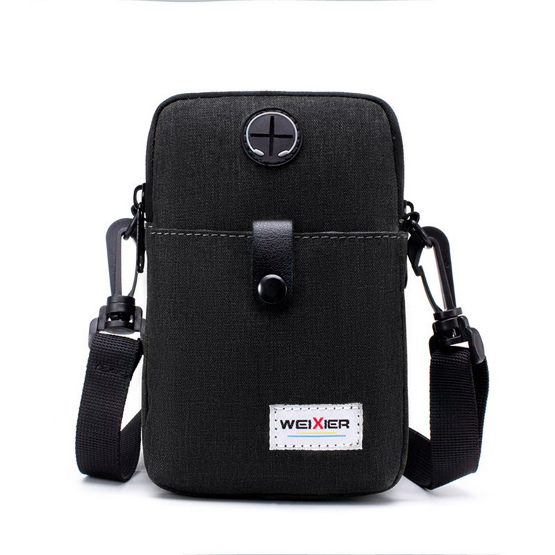 Crossbody-Bags Messenger-Bag Travel-Pouch Back-Pack Small Waterproof Mini Men Oxford