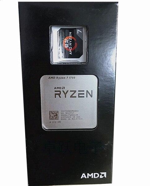 AMD Ryzen 7 1700 R7 1700 3.0GHz Eight-Core Sixteen-Thread CPU Processor 65W Socket AM4 NEW