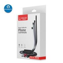 QIANLI Power Kabel für iPhone Reparatur batterie Stecker DC Netzteil Kabel für iPhone 6/6 P/7 /7 P/8/8 P/X/XS/MAX Motherboard