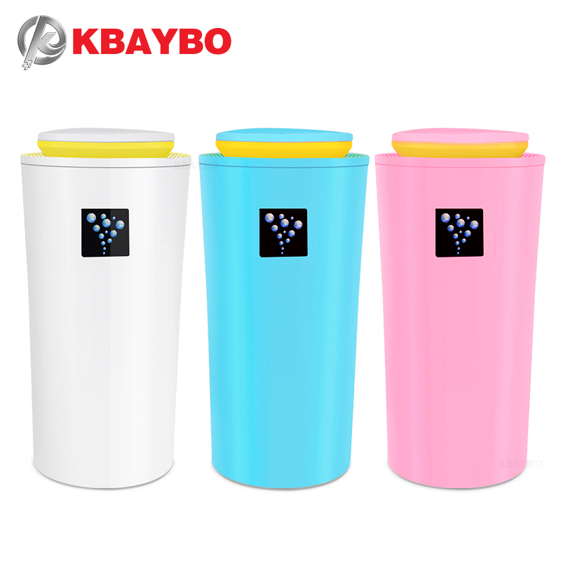 KBAYBO 230ML Ultrasonic Humidifier USB Car Humidifier Mini Aroma Essential Oil Diffuser Aromatherapy Mist Maker Home Office
