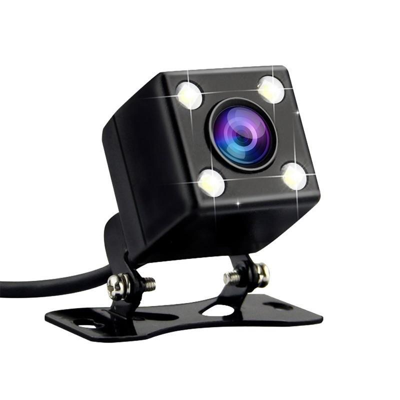 HD камера заднего вида с ночным видением, Автомобильная камера заднего вида со светодиодный подсветкой, угол обзора 170 градусов, парковочная камера Без направляющей линии - Название цвета: Rear View Camera