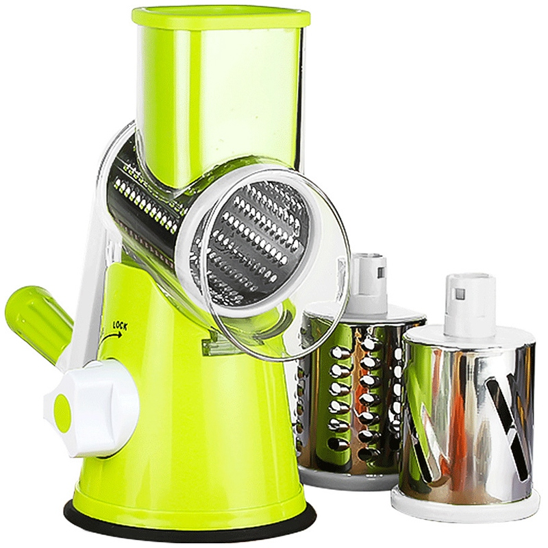 Multi Function Vegetable Grater Chopper Spiral Slicer Kitchen Gadget Hot New Multi Function Manual Rotating Fruit Cutting Tool|Other Kitchen Specialty Tools| |  - title=