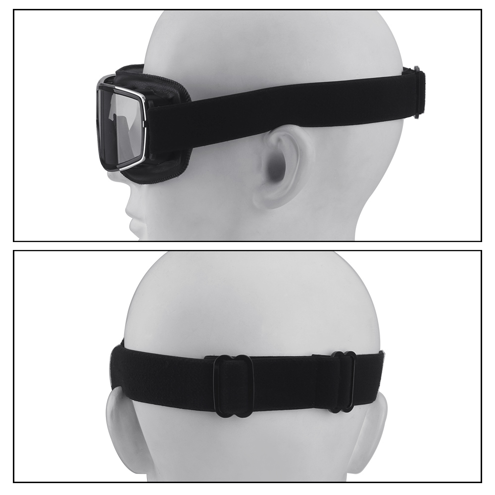 lowest price YOSOLO Motorcycle Goggles Steampunk Helmet Goggles Motorcycle Accessories Motocross Eyewear Mask Windproof Motorbike Glasses