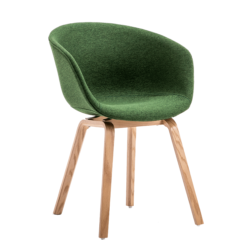Factory Store Dining Chair Nordic Solid Wood Simple Negotiation Chair 4S Shop Net Red Back Chair