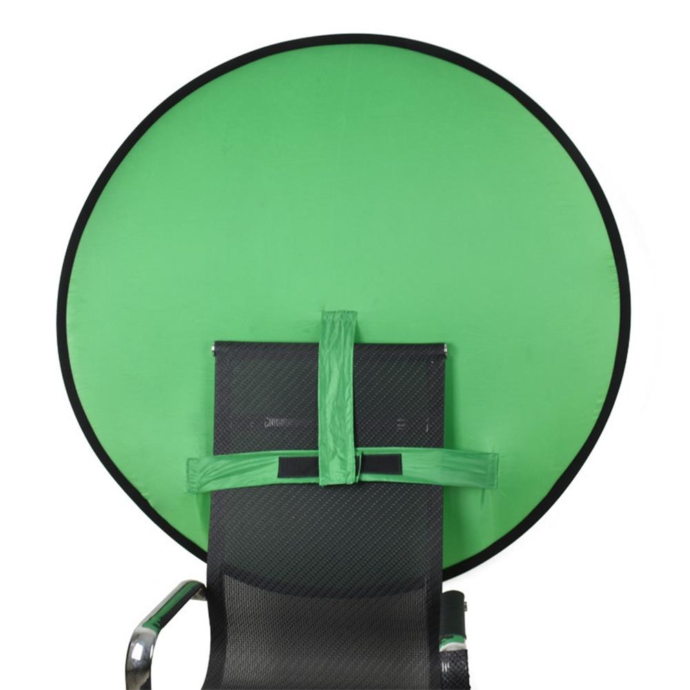 75/110 см зеленый экран фото фон ткань полиэстер высокая насыщенность цвета фотографии фоны для живой видео студии