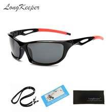 Longkeeper поляризационные солнцезащитные очки для мужчин и