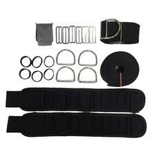 Arnés de espalda descubierta para buceo, soporte de Donut BCD, correa de entrepierna, cinturón de peso, accesorios de buceo