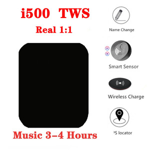 Bluetooth-наушники i500 Pro2 TWS, беспроводная гарнитура с GPS-Навигатором, 1:1, Air 2 Gen, PK i12 i5000 i9000