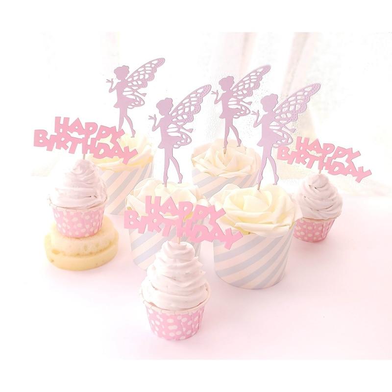 Fine 5Pcs Lovely Cartoon Character Fairy Ballerina Girl Princess Birthday Cards Printable Inklcafe Filternl