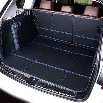Full Covered Waterproof Boot Carpets Durable Custom Special Car Trunk Mats for Volkswagen Jetta Bora Golf GTI CC Bettle Tiguan