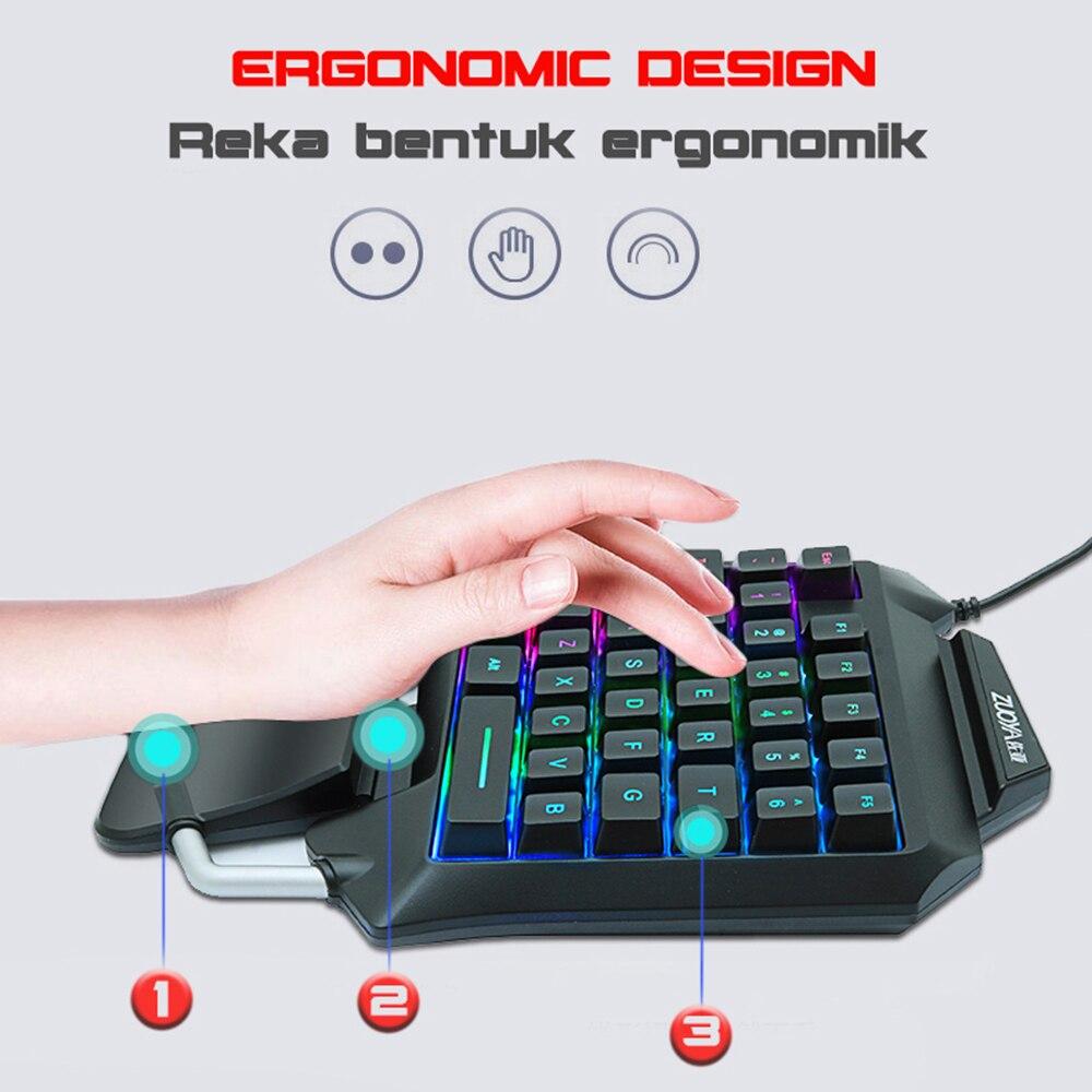Jogo do rato + 35 teclas teclado