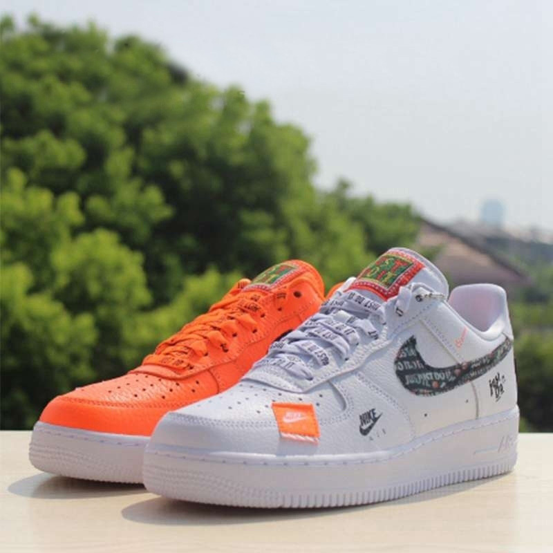 Nike Air Force 1 '07 Just Do It AF1 New Arrival Breathable Utility Men Skateboarding Shoes Low Comfortable Sneakers #AR7719 100