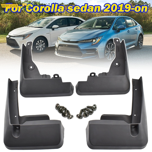 Toyota Corolla E210 4 도어 세단 2020 전면 리어 카 머드 플랩 스플래쉬 가드 머드 가드 액세서리