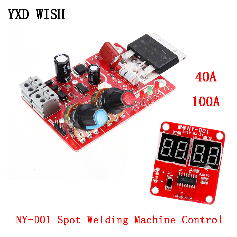 100A Spot Welding Machine Control Board Welder Transformer Controller Board