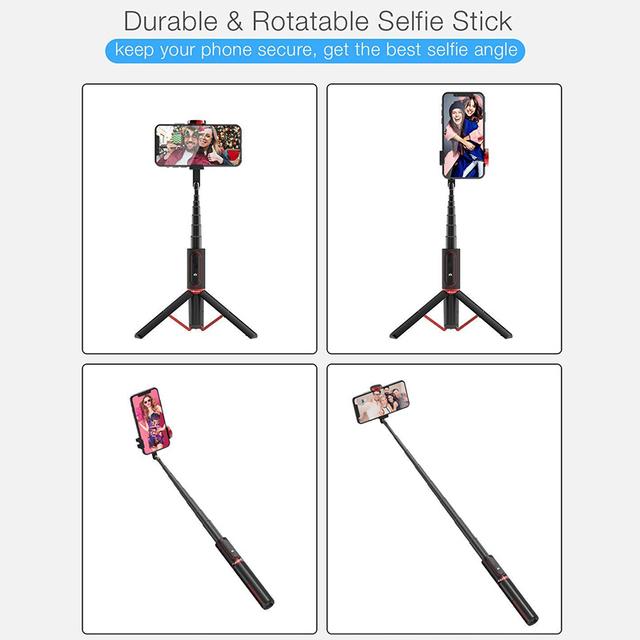 Portable Bluetooth Foldable & Extendable Selfie Stick