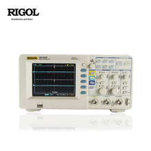 Rigol ds1052e 50 mhz 디지털 오실로스코프 2 아날로그 채널 1gsa/s 1 m 메모리 5.6 tft lcd