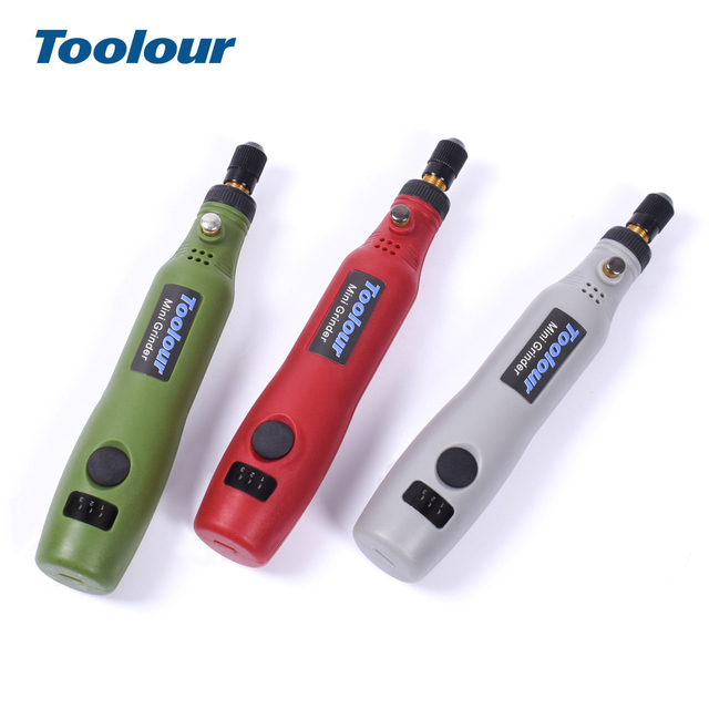 Toolour Mini Wireless Grinder USB 5V DC 10W  Machine Variable Speed Rotary Tool Kit Drill Engraver Pen for Milling Polishing