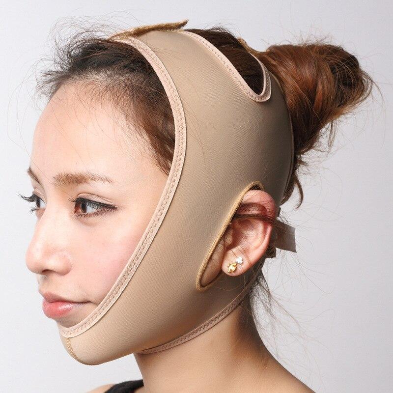 SEN Rodillo de Masaje de Estiramiento Facial Masajeador de Estiramiento Facial /Órtesis Delgada de Doble ment/ón Rosa