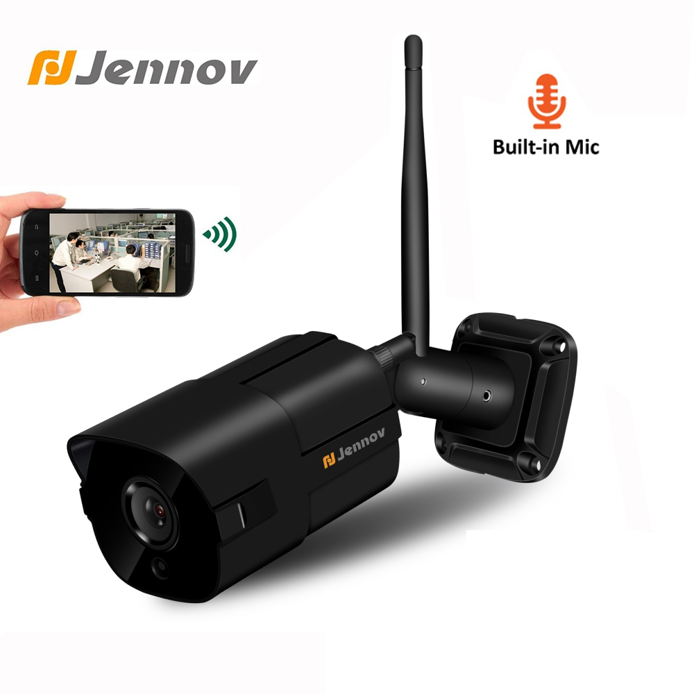 Jennov Wifi IP Camera Outdoor 1080P ONVIF Wireless Security Camara Home CCTV Video Surveillance Kit Aduio Record Waterproof Cam