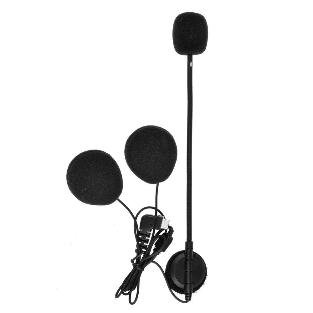 Fodsports Intercom Kopfhörer Ohrhörer für BT-S2 BT-S3 Bluetooth Helm Headset Sprech Stereo Kopfhörer