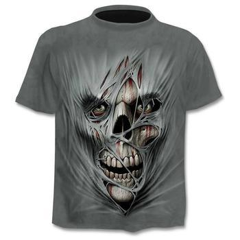 2020 new Drop ship 3D printed T-shirt men's   1