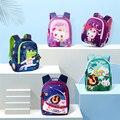 Детская школьная сумка для маленьких мальчиков; Детский водонепроницаемый рюкзак Русалочки с защитой от потери; рюкзак для детского сада и ...