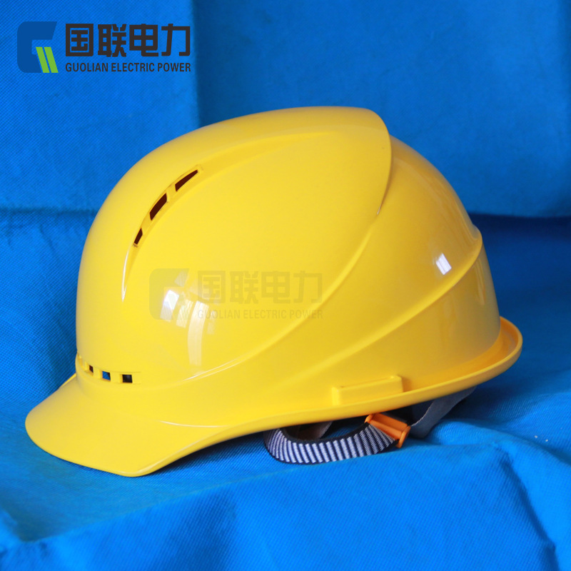 League ABS Smashing Breathable Safety Helmet A- Line Safety Helmet Grid Electric Power And Electrotechnology Construction Helmet