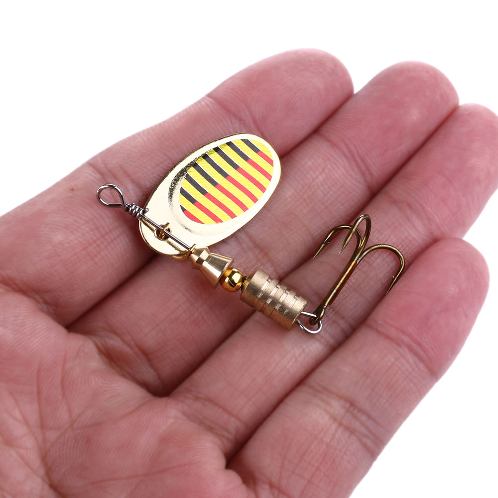 1pcs/lot Metal Jigging Fishing Lure with Hook 3.2g Mini Jig Hard Bait Slowly Sinking Spoon Lure