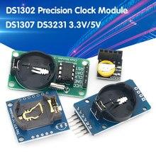 Ds3231 at24c32 iic módulo de relógio de precisão ds3231sn módulo de memória ds3231 mini módulo em tempo real 3.3v/5v para raspberry pi