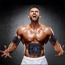 EMS Wireless Muscle Stimulator Trainer Electric Weight Loss Stickers Body Smart Fitness Abdominal Training  Arm Leg Belt Unisex