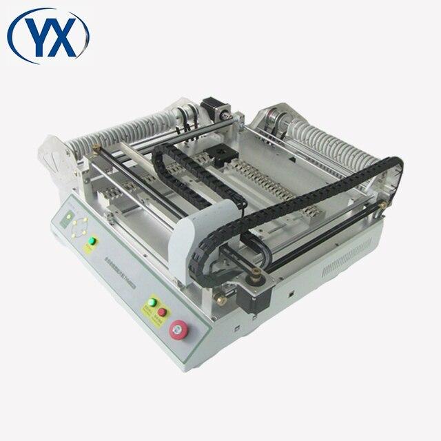 Baixo custo smt chip mounter tvm802b pegar e colocar máquina para a linha de produção smt