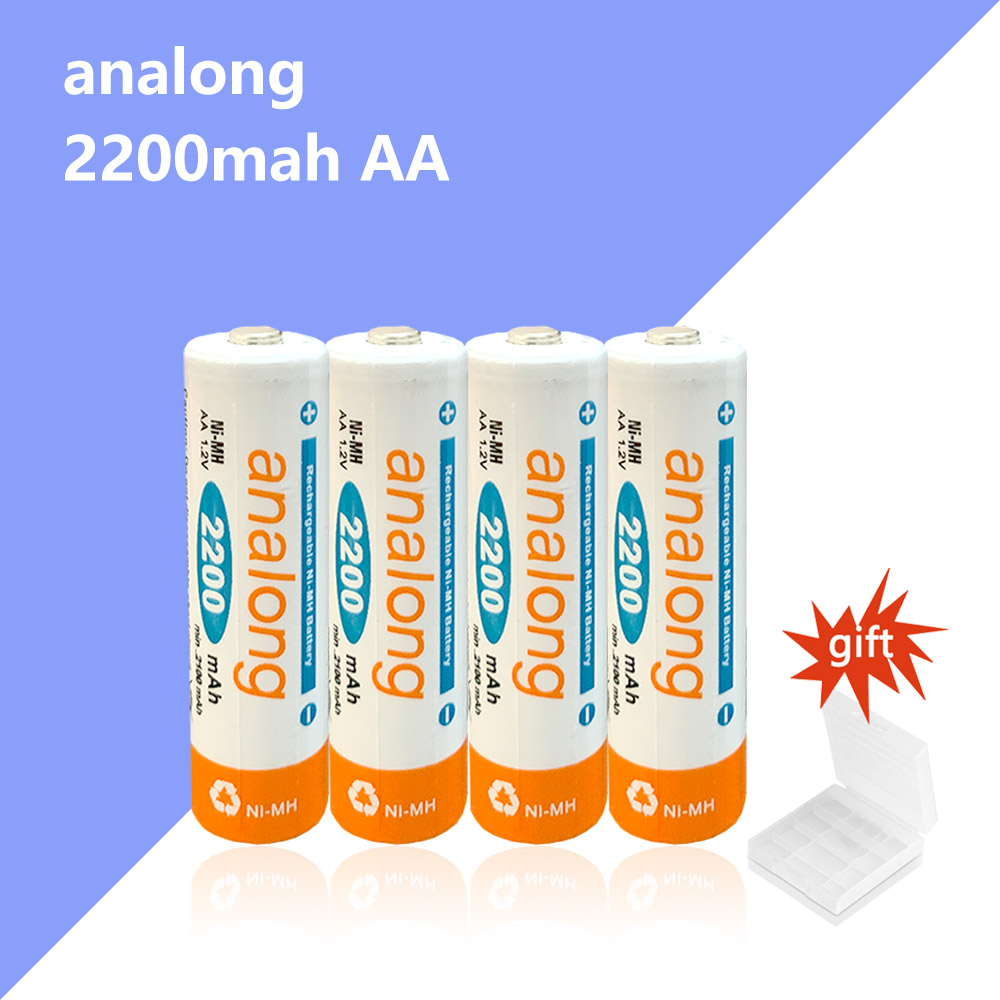Original high capacity <font><b>1.2v</b></font> <font><b>NI</b></font>-<font><b>MH</b></font> analong AA battery Low self-discharge AA rechargeable battery for KTV wireless mouse image