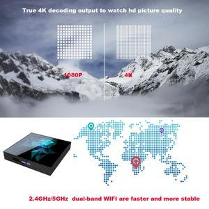 Image 4 - Smart Tv Box A95X Z2 Rockchip RK33118 Quad Core 64bit Android 9.0 2.4/5.0G Dual WiFi Bluethooth Google Play Android Set top Box