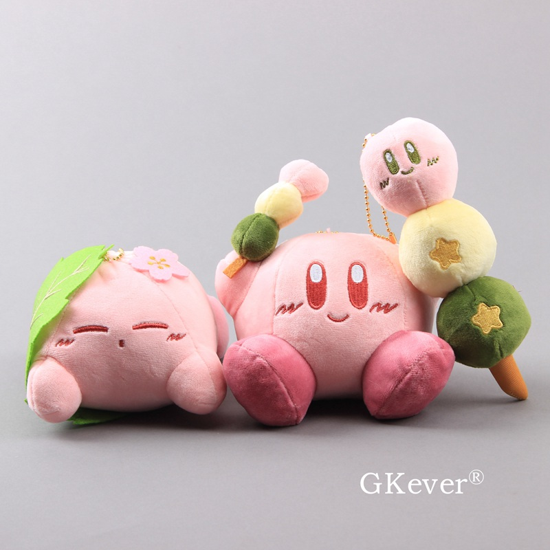 9-17cm Kawaii Kirby Plush Doll Toy Lovely Pink Kirby Game Character Doll Popular Game Stuffed Animals Toy Children Birthday Gift