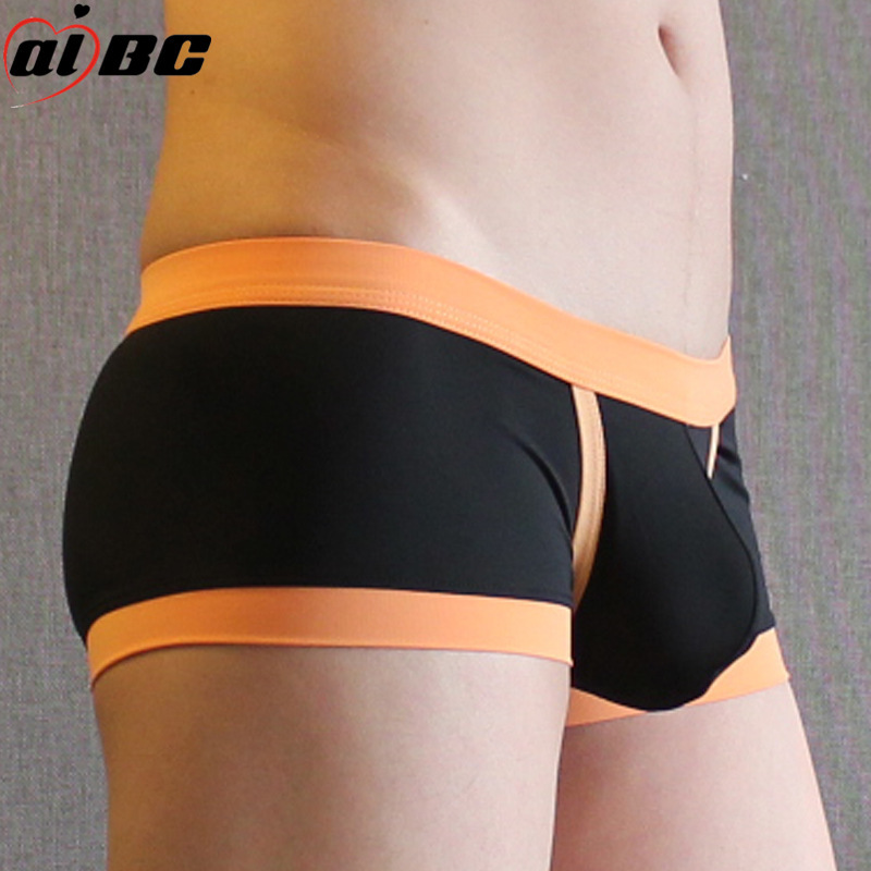 Hot Sell AIBC Boxers Shorts  New Men S Underwear Household Leisure Comfort Pants Wide Edge Low Waist Cross Border