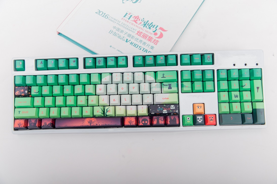 1 set <font><b>60</b></font>/87/104 keys Night Soul PBT Dye Sublimation <font><b>Keycaps</b></font> mechanical <font><b>keyboard</b></font> Key caps for MX switch image