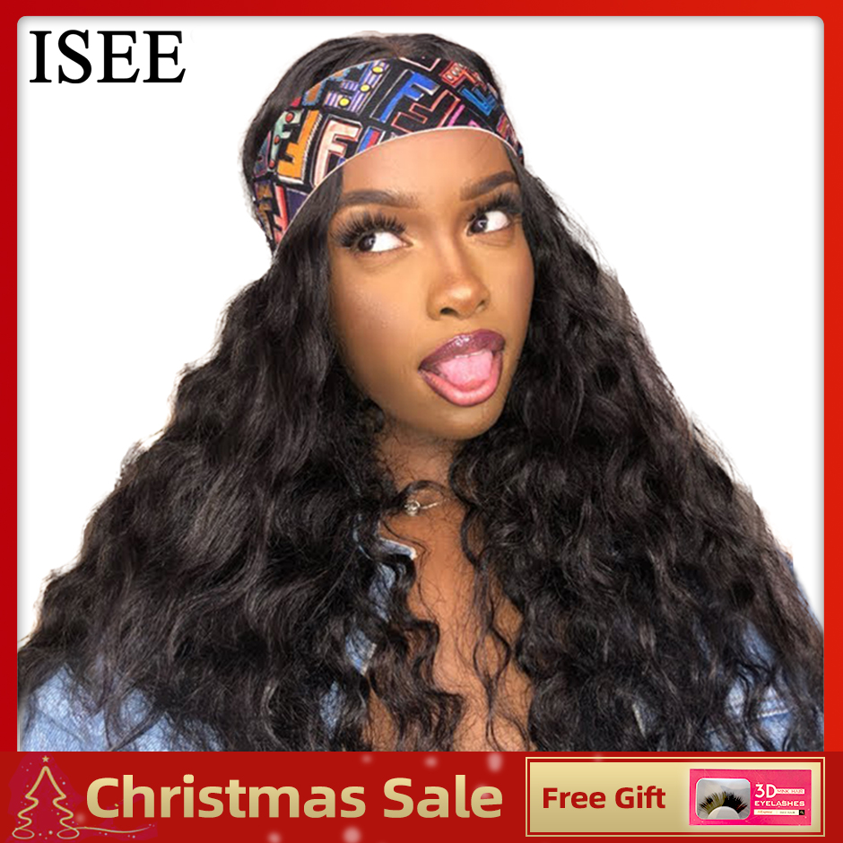 Brazilian Loose Deep Wave Lace Front Wig For Women Remy ISEE HAIR Wigs 13X6 Deep Wave Wig 360 Lace Frontal Human Hair Wigs