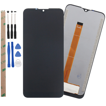 Oukitel K12 LCD Display and Touch Screen 6.3'' Assembly Repair Parts For Oukitel K12 Phone With Tools And Adhesive