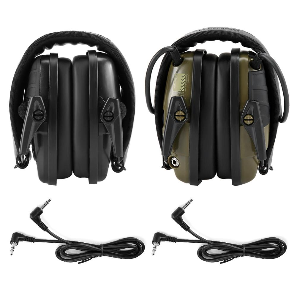 Earmuff Protective-Headset Hearing-Protector Amplification Shooting Anti-Noise Impact-Sound