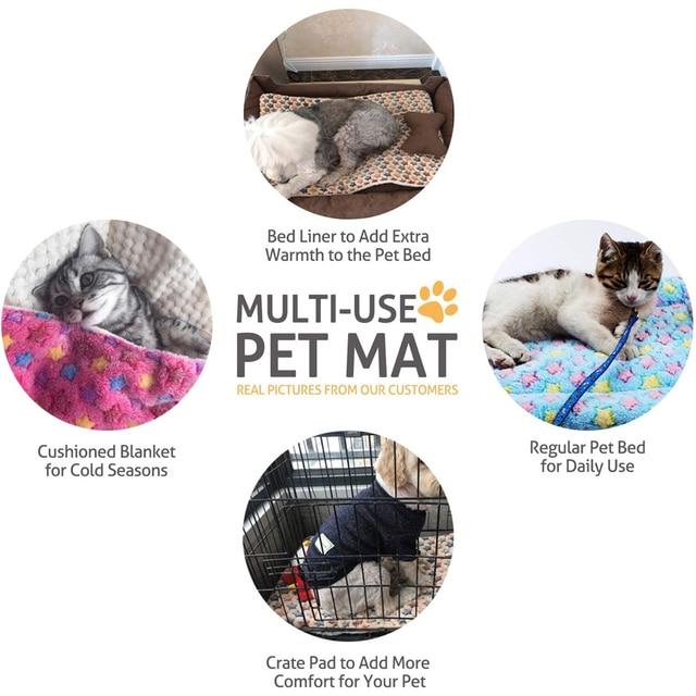 High Quality Washable Fleece/Cotton Super Cozy Pet Lounger 5