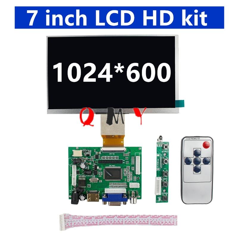 7 polegada ips tela lcd placa de motorista 8 polegada 9 polegada 40p50p hd raspberry pi kit exibição hdmi vgaav