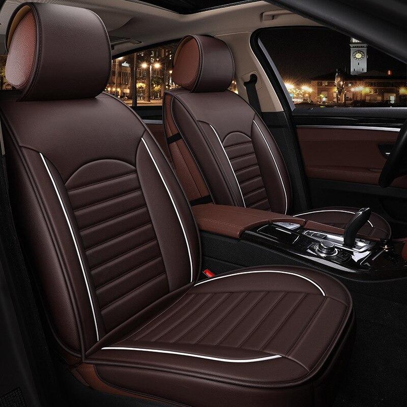 Nouveau Style coussin de siège fournitures de voiture coussin de siège toutes saisons PU cuir housse de siège Protection Pad fabricants en gros un Generatio