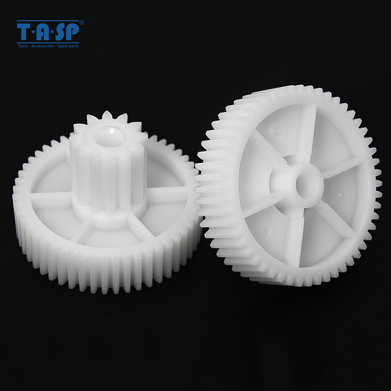 2pcs Gears Spare Parts For Meat Grinder Plastic Mincer Wheel MYW-07V For Moulinex MS014 Tefal TF007 T-fal Kitchen Appliance